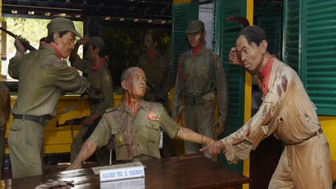Ilustrasi/Peringatan 50 tahun G30 S PKI di Indonesia