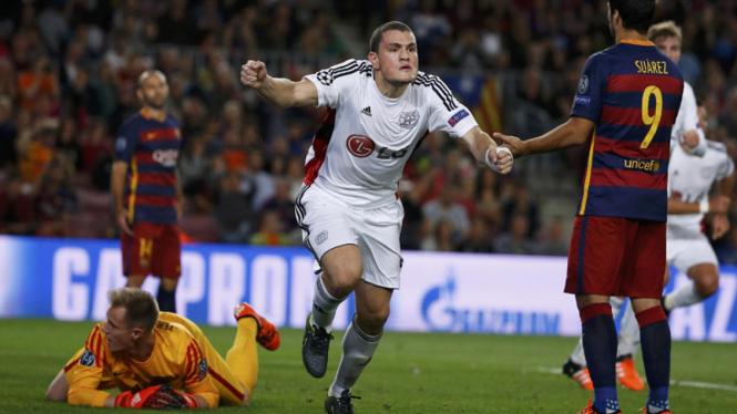 Barcelona 2-1 Bayer Leverkusen