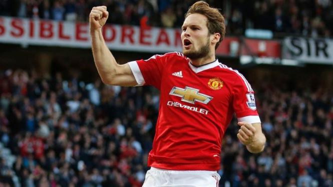 Mantan pemain belakang Manchester United, Daley Blind.