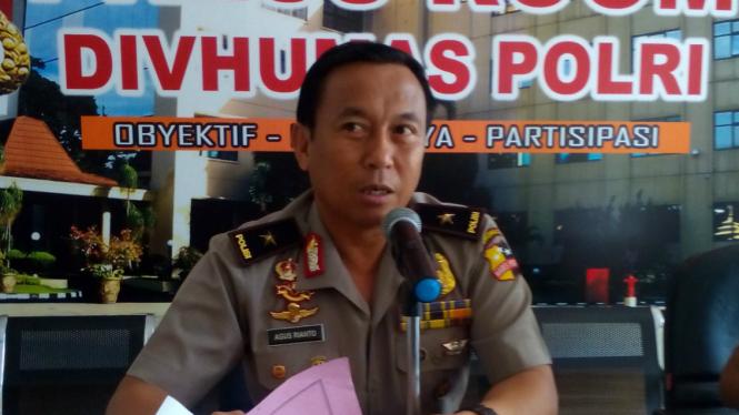 Kepala Biro Penerangan Masyarakat Mabes Polri, Brigadir Jenderal Polisi Agus Rianto.