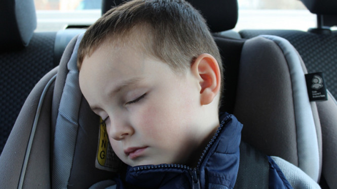 ilustrasi anak tertidur