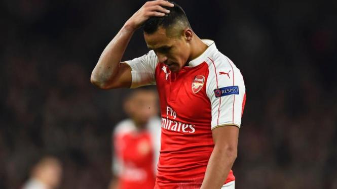 Penyerang Arsenal, Alexis Sanchez