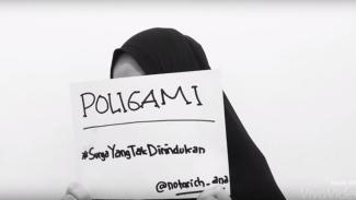 poligami, saya tidak sanggup berbagi