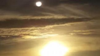 Penampakan objek diduga Planet Nibiru.