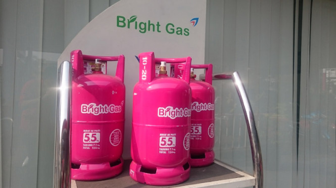 Bright Gas 5 5 Kg Hadir Di 25 Outlet Indomaret