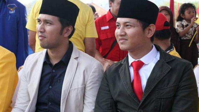 Bupati dan Wakil Bupati Trenggalek, Emil Elestianto-Mochamad Nur Arifin.