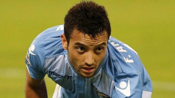Gelandang Lazio, Felipe Anderson