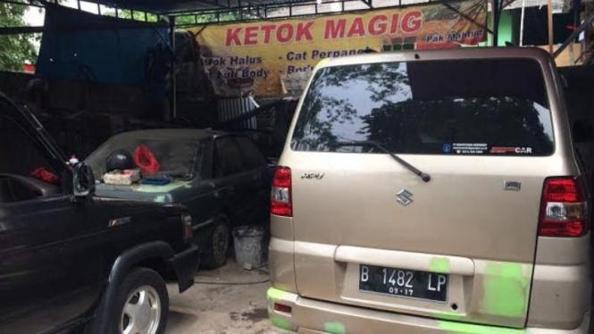 Reparasi Bodi Mobil Di Ketok Magic Ini Kisaran Biayanya