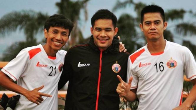 Pemain Persija Jakarta, Amarzukih, Andritany, dan M. Roby