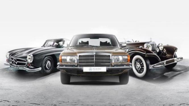 Mobil-mobil Klasik buatan Mercedes-Benz.