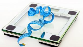 Ilustrasi diet/menurunkan berat badan.
