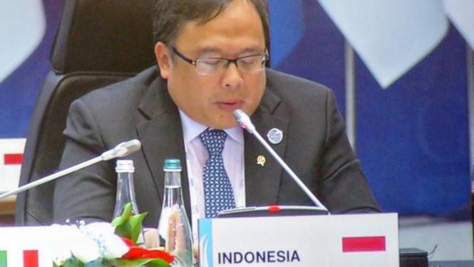 Menteri Perencanaan Pembangunan Nasional (PPN)/Kepala Bapennas, Bambang Brodjonegoro.
