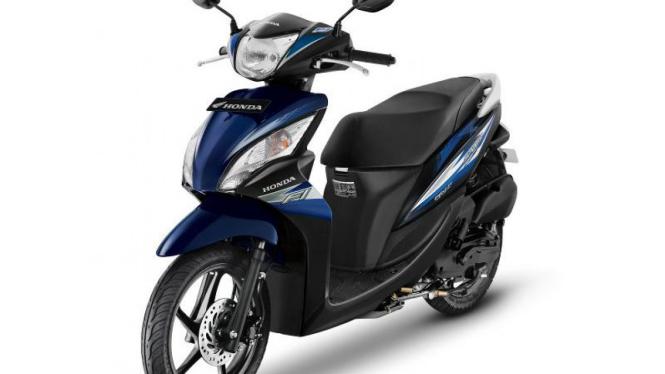 Honda Spacy Helm-in PGM FI.