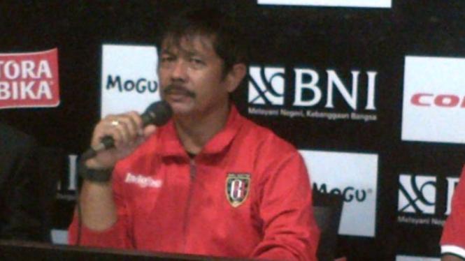 Pelatih Bali United, Indra Sjafri