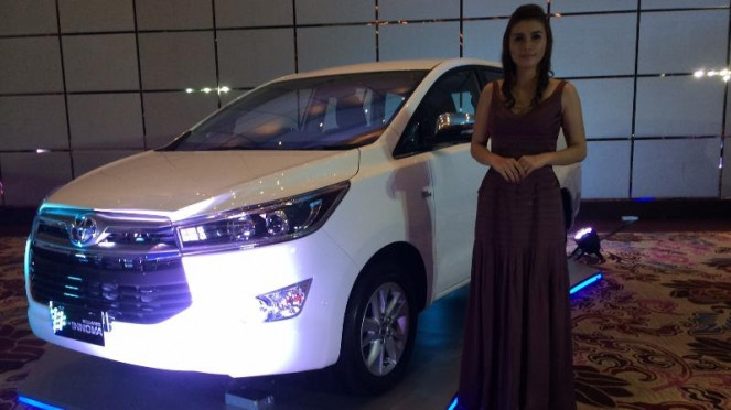 Peluncuran All New Kijang Innova di Jakarta, Senin (23/11/2015).