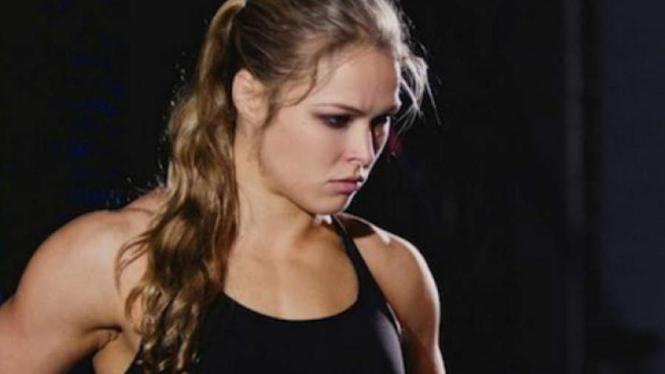 Petarung UFC, Ronda Rousey.
