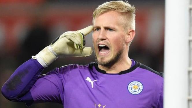 Penjaga gawang Leicester City, Kasper Schmeichel