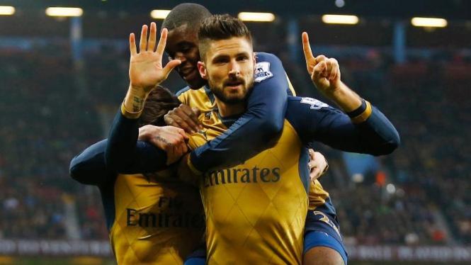 Striker Arsenal, Olivier Giroud.