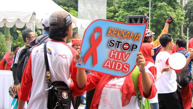Kampanye peduli AIDS