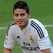 Gelandang serang Real Madrid, James Rodriguez