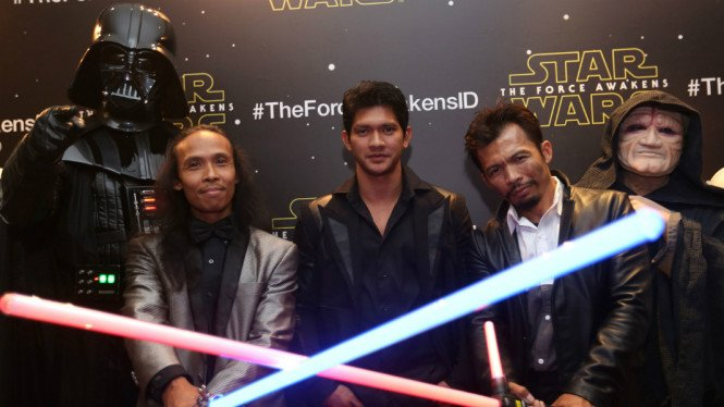 Pemain The Raid bintangi film Star Wars
