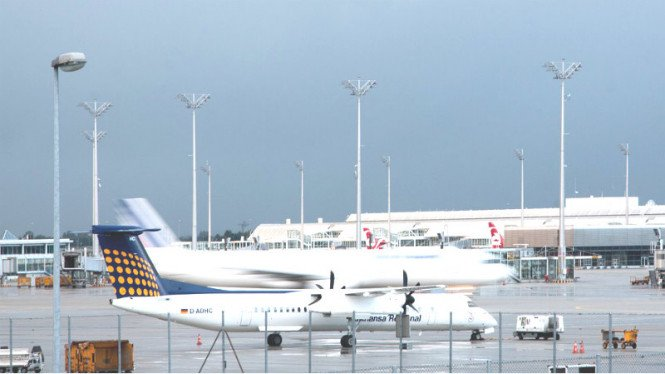 Ilustrasi maskapai penerbangan.