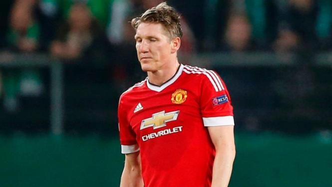 Gelandang Manchester United, Bastian Schweinsteiger