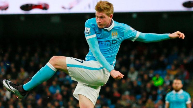 Pemain Manchester City, Kevin De Bruyne.