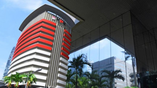 Gedung Komisi Pemberantasan Korupsi.