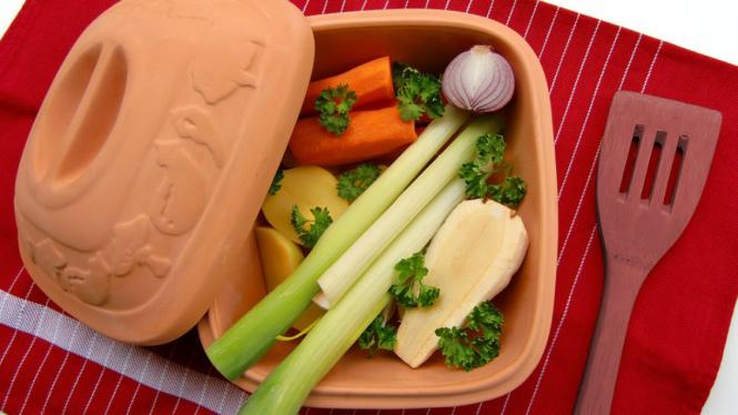 Ilustrasi vegan atau vegetarian
