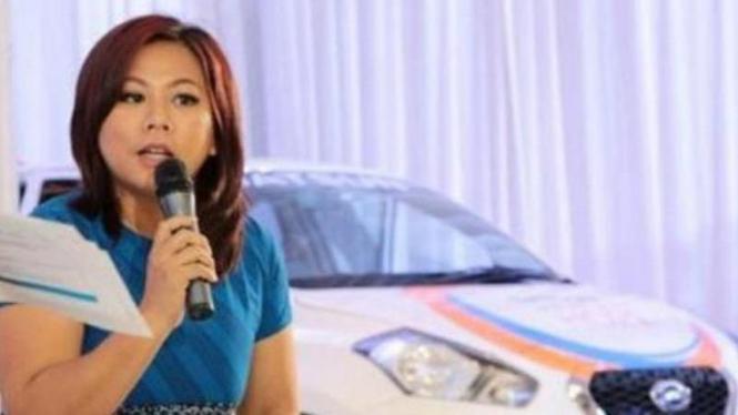 Head of Datsun Indonesia, Indriani Hadiwidjaja