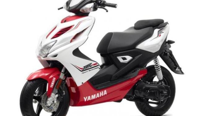 Yamaha Aerox di Eropa.