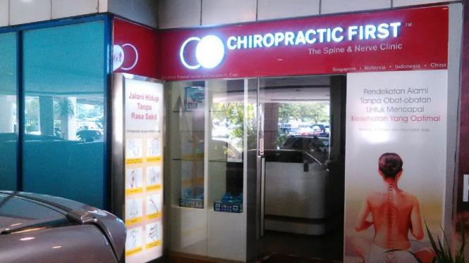 Klinik Chiropractic First di Pondok Indah Mal, Jakarta Selatan