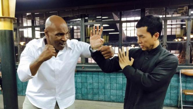 Aksi Mike Tyson dan Donnie Yen di Ip Man 3