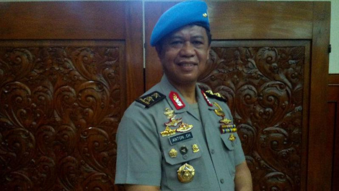 Kapolda Jawa Barat, Irjen Pol Anton Charliyan.