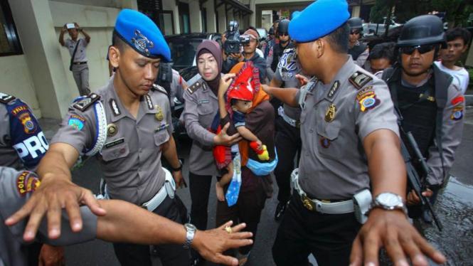 Perekrut anggota Gafatar di Indonesia