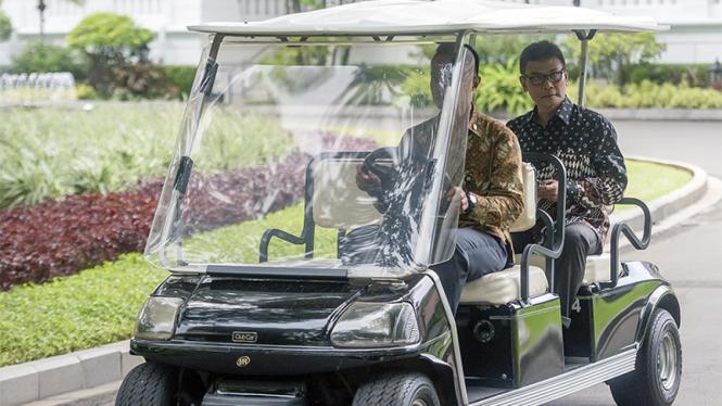 Jubir Presiden Johan Budi.