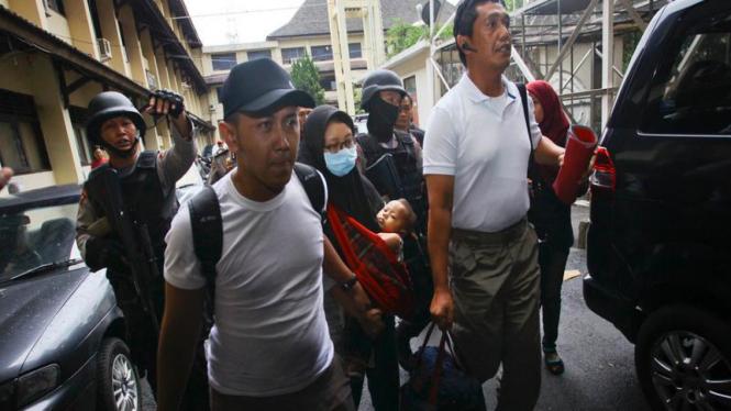 Korban aliran sesat Gafatar di Indonesia