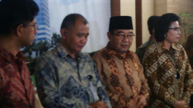 Pimpinan KPK bertemu dengan Ketua BPK