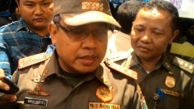 Kepala Satpol PP DKI, Kukuh Hadi Santoso.
