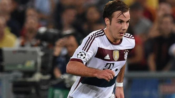 Gelandang serang Bayern Munich, Mario Goetze