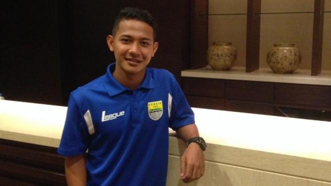 Jelang Pencoretan Pemain Timnas U-22, Gelandang Persib Santai