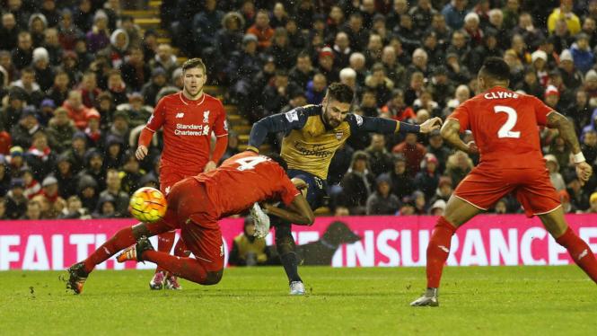 Liverpool Ditahan Imbang Arsenal