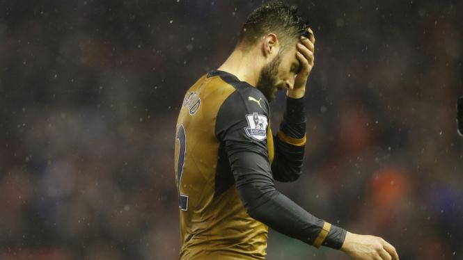 Penyerang Arsenal, Olivier Giroud