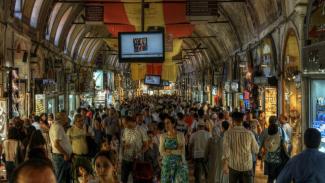 Grand Bazaar Istanbul sebelum wabah Corona
