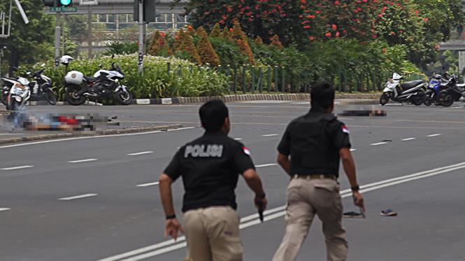 Ledakan Bom Bunuh Diri di Sarinah