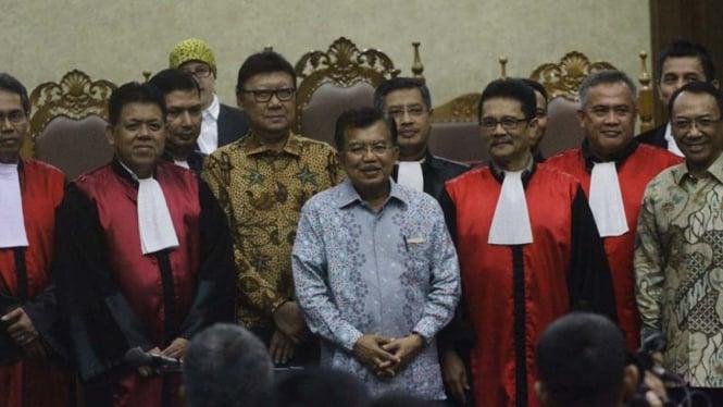 Jusuf Kalla bersaksi untuk Jero Wacik