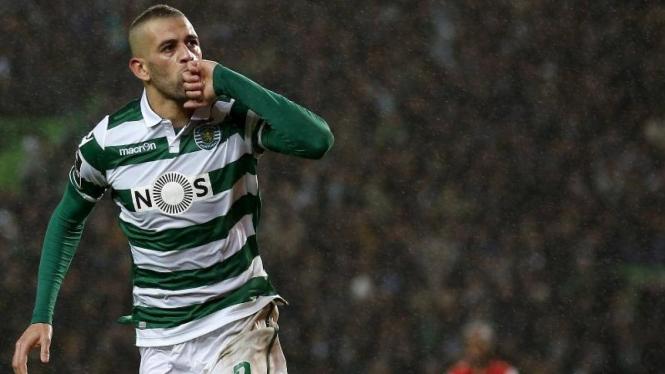 Penyerang Sporting Lisbon, Islam Slimani