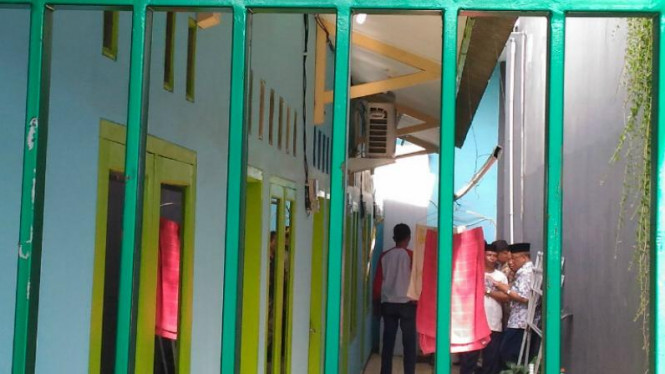 Penggerebekan kediaman terduga teroris di Bekasi