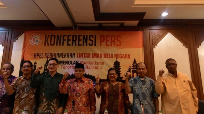Ilustrasi/Tokoh Lintas Agama ambil sikap terorisme di Indonesia.
